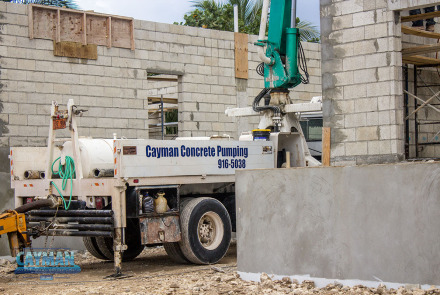 Concrete Pumping Small Truck